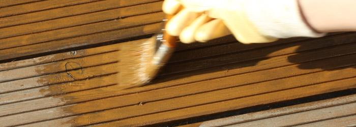 Holzschutz für Terrassendielen