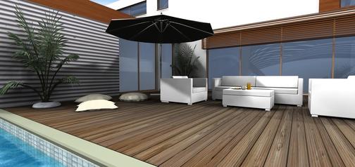 Terrasse planen garten terrasse anlegen alle kosten fotos for Terrassenplanung ideen