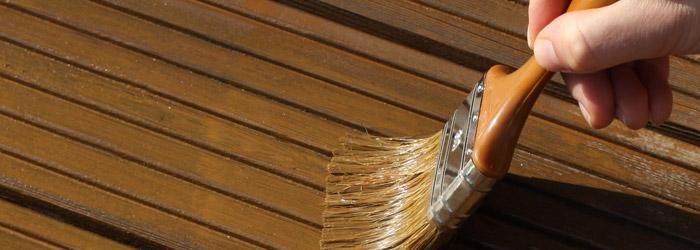 Holzschutz durch Terrassenöl