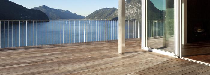 Terrasse, Balkon oder Wintergarten