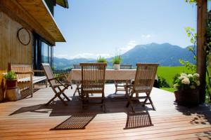 Terrassenküche
